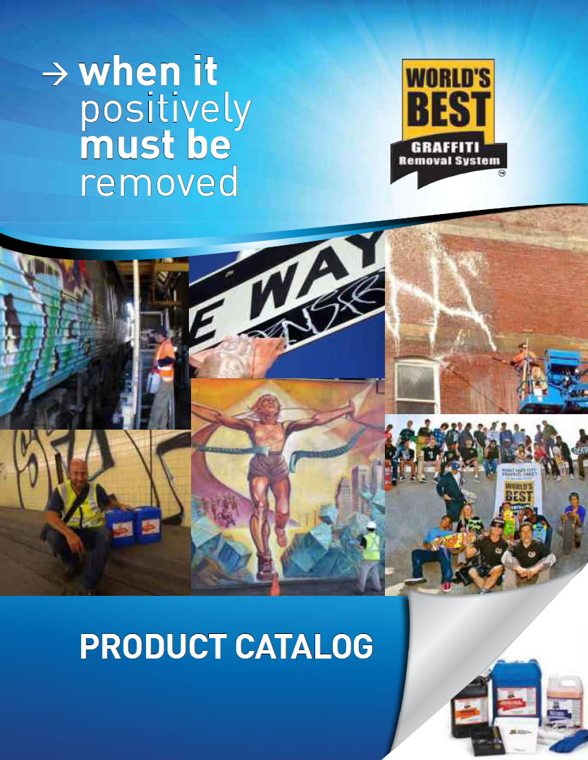 World's Best Graffiti Removal Products Catalog
